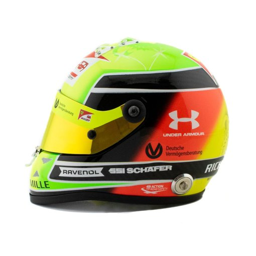 Mini Helmet 12 Mick Schumacher 2020 Driver accademy 3