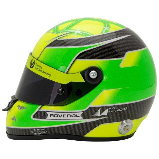 Mini Helmet 12 Mick Schumacher Belgium SPA 2018 Formula 3 Champion 1