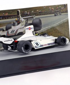 Modellino Atlas 143 Carlos Pace Brabham BT44B 8 Winner Great Britain Gp F1 1972 1