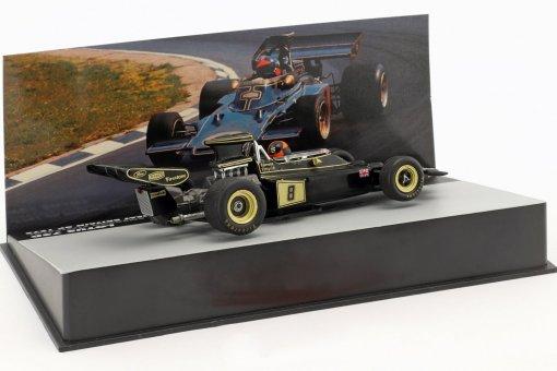 Modellino Atlas 143 Emerson Fittipaldi Lotus 72D 8 Winner Gp Brazil F1 1975 2