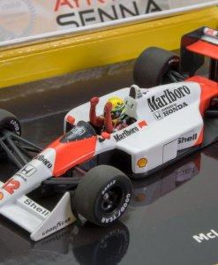 Modellino Minichamps 143 Ayrton Senna McLaren Honda MP44 Formula 1 Japan GP 1988 3