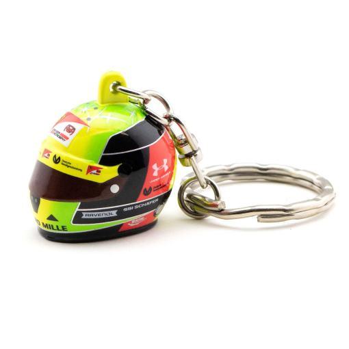 Portachiavi Minichamps Mick Schumacher mini casco 3D 2020