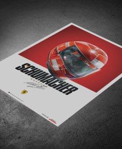 Poster Casco Michael Schumacher F1 2000 3