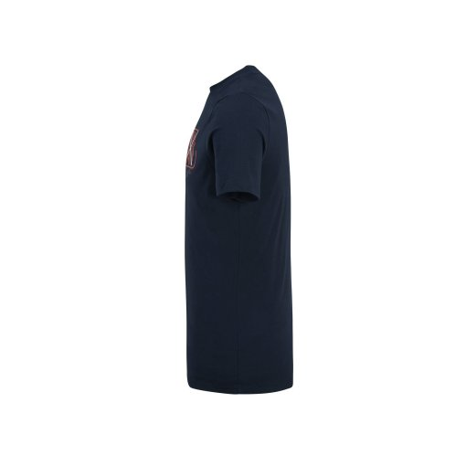 T shirt Max Verstappen blu Casual lato