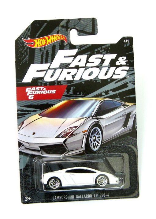 Modellino Auto Mattel Hot Wheels 164 LAMBORGHINI GALLARDO LP560 4 2008 FAST FURIOUS 6
