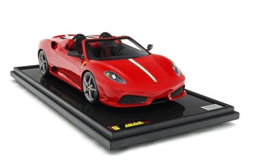 Modellino Auto Amalgam 18 Ferrari F430 Scuderia Spider 16M 2008 Rosso