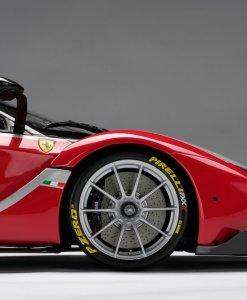 Modellino Auto Amalgam 18 Ferrari FXXK Rosso Limited Ed 199 pcs. dettaglio