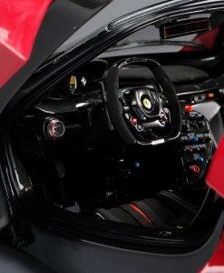 Modellino Auto Amalgam 18 Ferrari FXXK Rosso Limited Ed 199 pcs. interni
