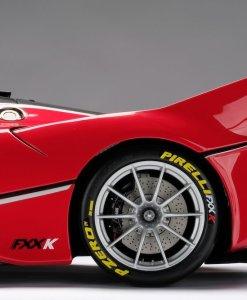 Modellino Auto Amalgam 18 Ferrari FXXK Rosso Limited Ed 199 pcs. lato