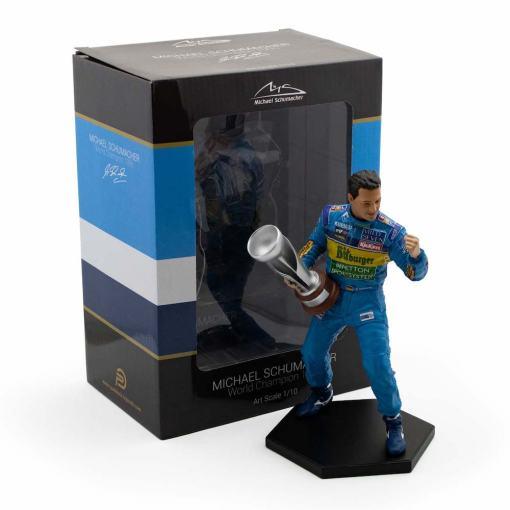 Michael Schumacher Figure Second F1 World Championship 1995 110 3