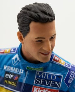 Michael Schumacher Figure Second F1 World Championship 1995 110 FRONTE