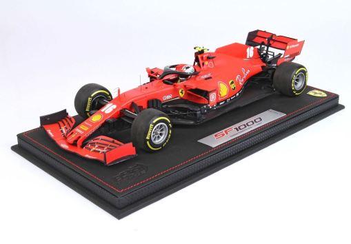 Modellino F1 BBR MODELS 118 Ferrari SF1000 2020 Charles Leclerc Austrian GP Special