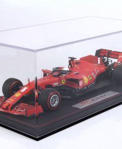 Modellino F1 BBR Models 118 Ferrari SF1000 2020 Sebastian Vettel Austrian GP Special Box Limited Ed. vetrina