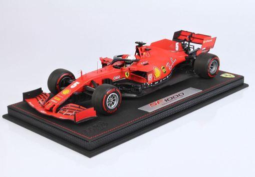 Modellino F1 BBR Models 118 Ferrari SF1000 2020 Sebastian Vettel Austrian GP Special Box Limited Ed