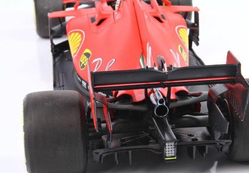 Modellino F1 BBR Models 118 Ferrari Sf1000 Charles Leclerc 2020 Red Bull ring posteriore