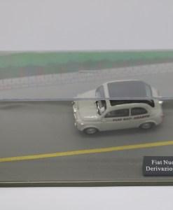 Hachette 143 Fiat Nuova 500 Derivazione Abarth DIORAMA 1