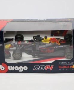 Bburago 143 RedBull F1 RB14 Max Verstappen 33 Die Cast