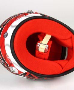 Mini Casco Charles Leclerc 2020 Scala 12 8
