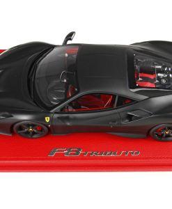 118 BBR MODELS Ferrari F8 Tribute Nero Opaco P18171MB1 2
