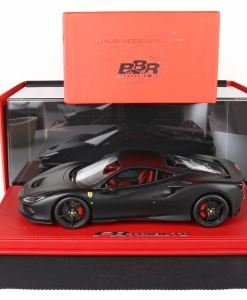 118 BBR MODELS Ferrari F8 Tribute Nero Opaco P18171MB1 6