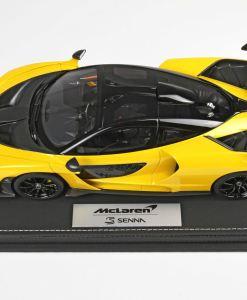 118 BBR McLaren Senna 2018 Volcano Yellow P18149H1 4