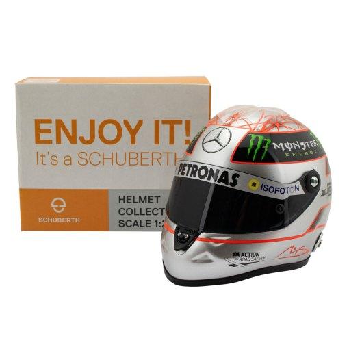 12 Michael Schumacher Helmet 300 gp Spa 6