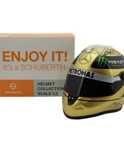 12 Michael Schumacher Spa 2011 gold helmet 6