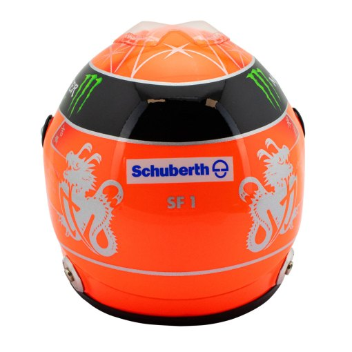 Michael Schumacher Final Helmet GP Formula 1 2012 12 3