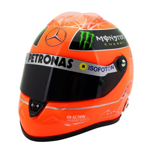 Michael Schumacher Final Helmet GP Formula 1 2012 12