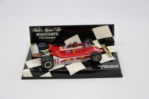 Minichamps 143 Ferrari 312 T4 G. Villeneuve 2