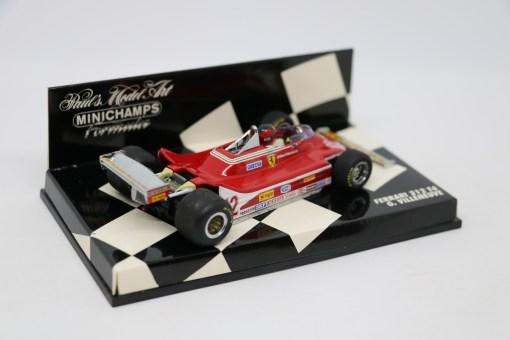 Minichamps 143 Ferrari 312 T4 G. Villeneuve 4
