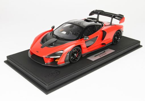 BBR 118 McLaren Senna 2018 Red Accent