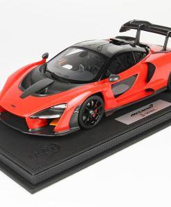 BBR 118 McLaren Senna 2018 Red Accent