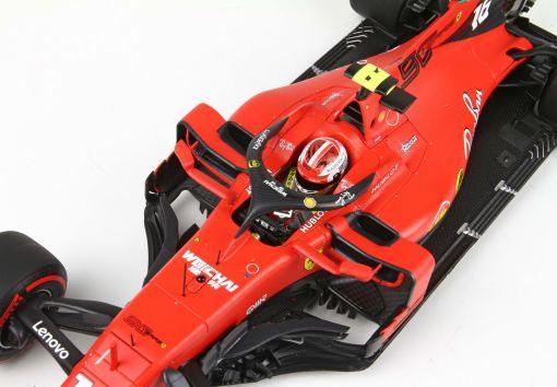 BBR 118 Ferrari SF90 GP Belgium Pole Position Leclerc 2