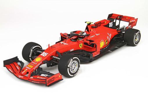 BBR 118 Ferrari SF90 GP Italy Monza 2019 Leclerc frontale