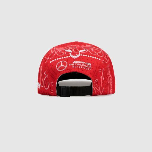 Cappellino Mercedes F1 Lewis Hamilton GP Inghilterra 2020 retro 2