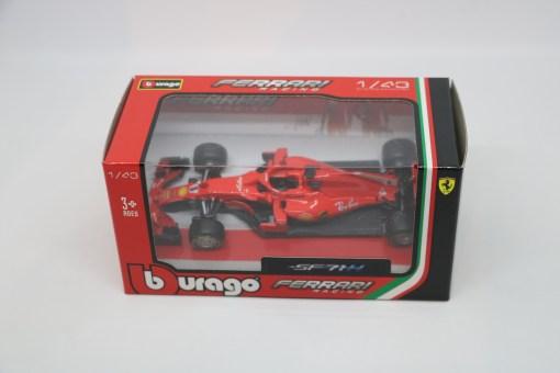 Bburago 143 Ferrari SF71HS. Vettel 2018 N.5