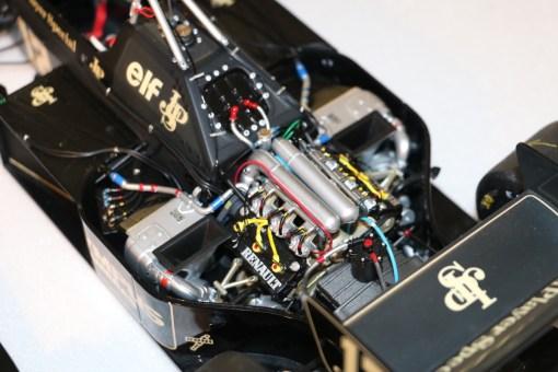 Modellino artigianale 112 F1 Lotus 97T 1985 Ayrton Senna N.12