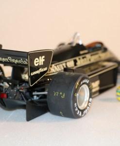 Modellino artigianale 112 F1 Lotus 97T 1985 Ayrton Senna N.12 4