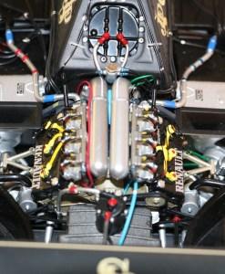 Modellino artigianale 112 F1 Lotus 97T 1985 Ayrton Senna N.12 7