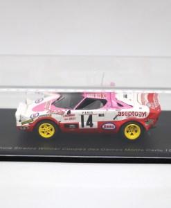 SPARK 143 Lancia Stratos Winner Coupes des Dames Monte Carlo 1977 1