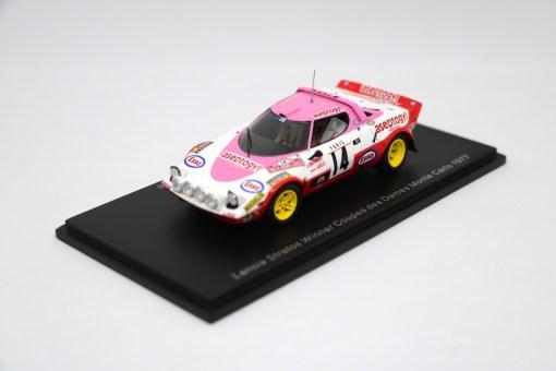 SPARK 143 Lancia Stratos Winner Coupes des Dames Monte Carlo 1977 3