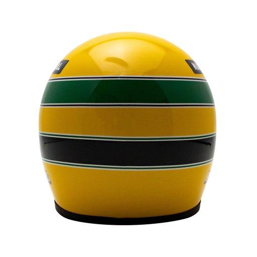 Mini Helmet Ayrton Senna Formula Uno 1990 scala 12 6
