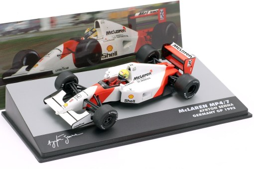 Modellino Altaya 1 43 McLaren MP47 Ayrton Senna Germany GP 1992