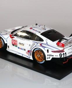 Modellino Spark 112 Porsche 911 RSR Winner GTLM class Petit 24h Le Mans 2018 retro