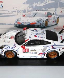 Modellino Spark 112 Porsche 911 RSR Winner GTLM class Petit 24h Le Mans 2018
