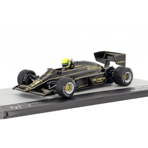 Modellino Atlas 143 Ayrton Senna Lotus 97T 12 Winner Portugal GP F1 1985 3