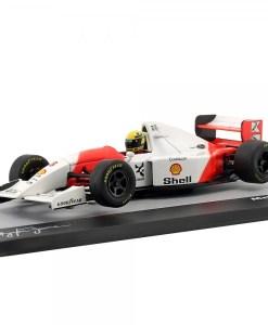 Modellino Atlas 143 Ayrton Senna McLaren MP48 8 winner Australia GP F1 1993 3