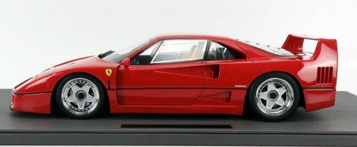 Modellino TOP MARQUES Ferrari F40 1987 Rossa 1 12 lato 2