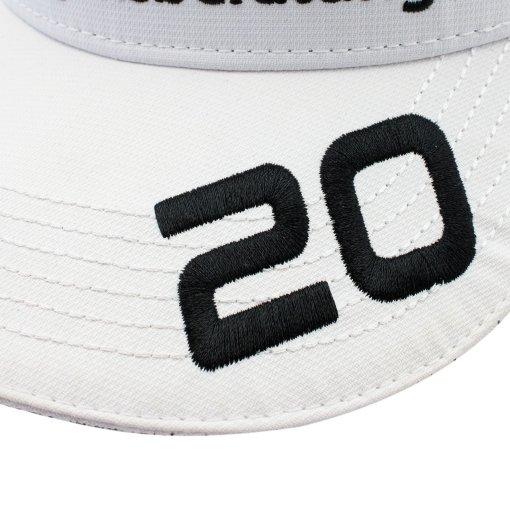 Cappellino Mick Schumacher adulto Under Armour 2020 white 3